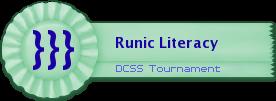 Runic Literacy